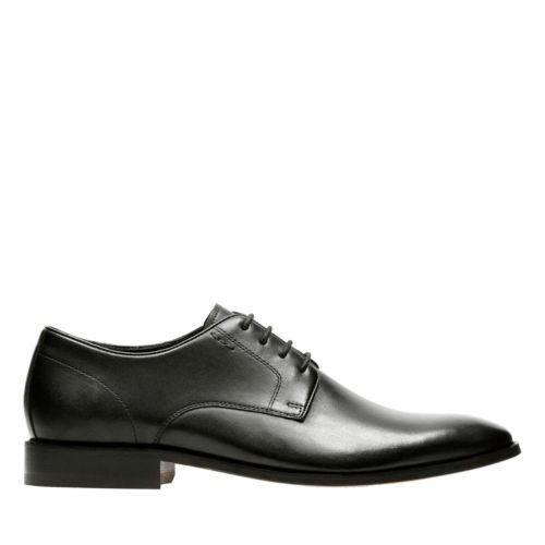 Nantasket Fly Black Leather mens-dress-shoes