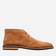 Dezmin Mid Cola Suede mens-bostonian-new-arrivals
