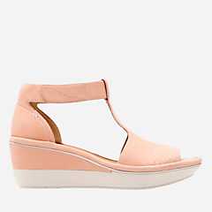 Women S Wedge Shoes Clarks 174 Shoes Official Site