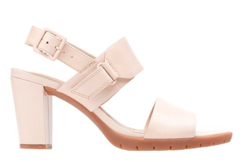 Kurtley Shine Dusty Pink Leather womens-heels