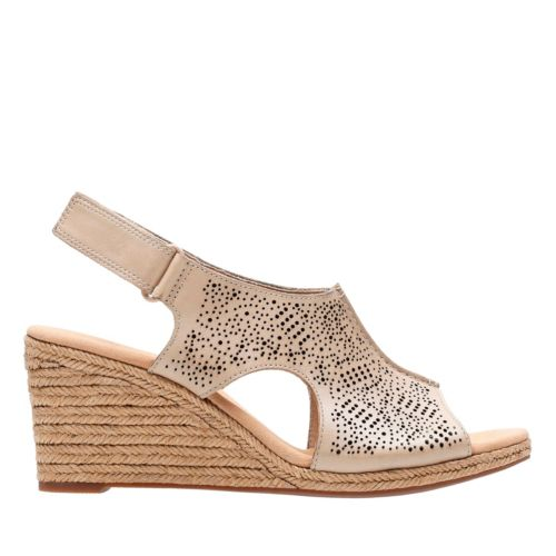 Lafley Rosen Sand Leather womens-wedges