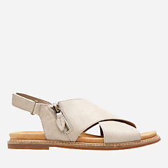 Corsio Calm Sand Leather womens-flat-sandals