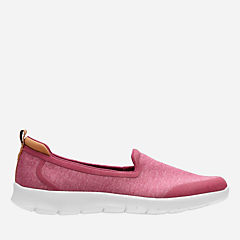 Step Allena Lo Deep Fuchsia Heathered Fabric womens-casual-shoes
