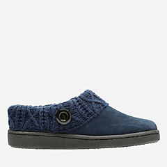Willodean Fern Navy womens-slippers