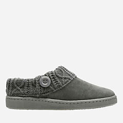 Willodean Fern Grey womens-slippers