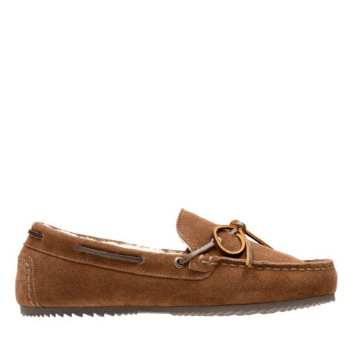 Kohen Park Light Brown mens-slippers