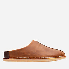 Apollo Jorney Tan mens-slippers
