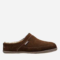 Tyree Porter Brown mens-slippers