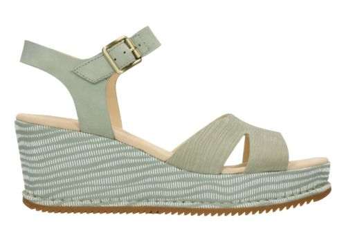 Akilah Eden Light Green Combi Nubuck womens-sandals-wedge