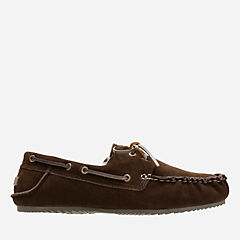 Jordy Murl Brown mens-slippers