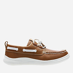 Cloud Swing Tan Leather boys-youth
