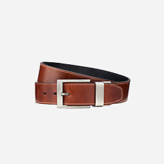 Men's Oily Leather Reversible Belt Brown mens-accessories