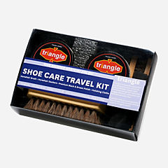 Leather Shoe Care Kit by Triangle Multicolor womens-accessories-view-all