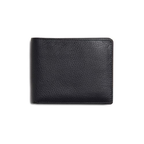 Passcase Wallet Black Leather mens-accessories
