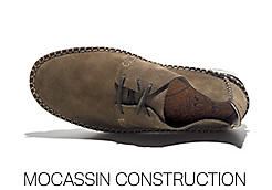 Mocassin construction