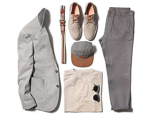 Wear the Hinton Fly with head-to-toe neutrals and stick with classic peices