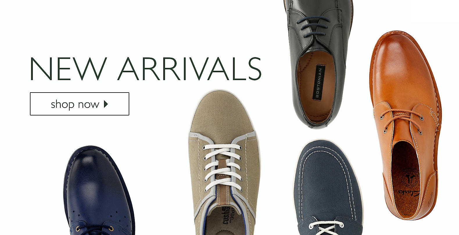 Shop Clarks Men's New Arrivals