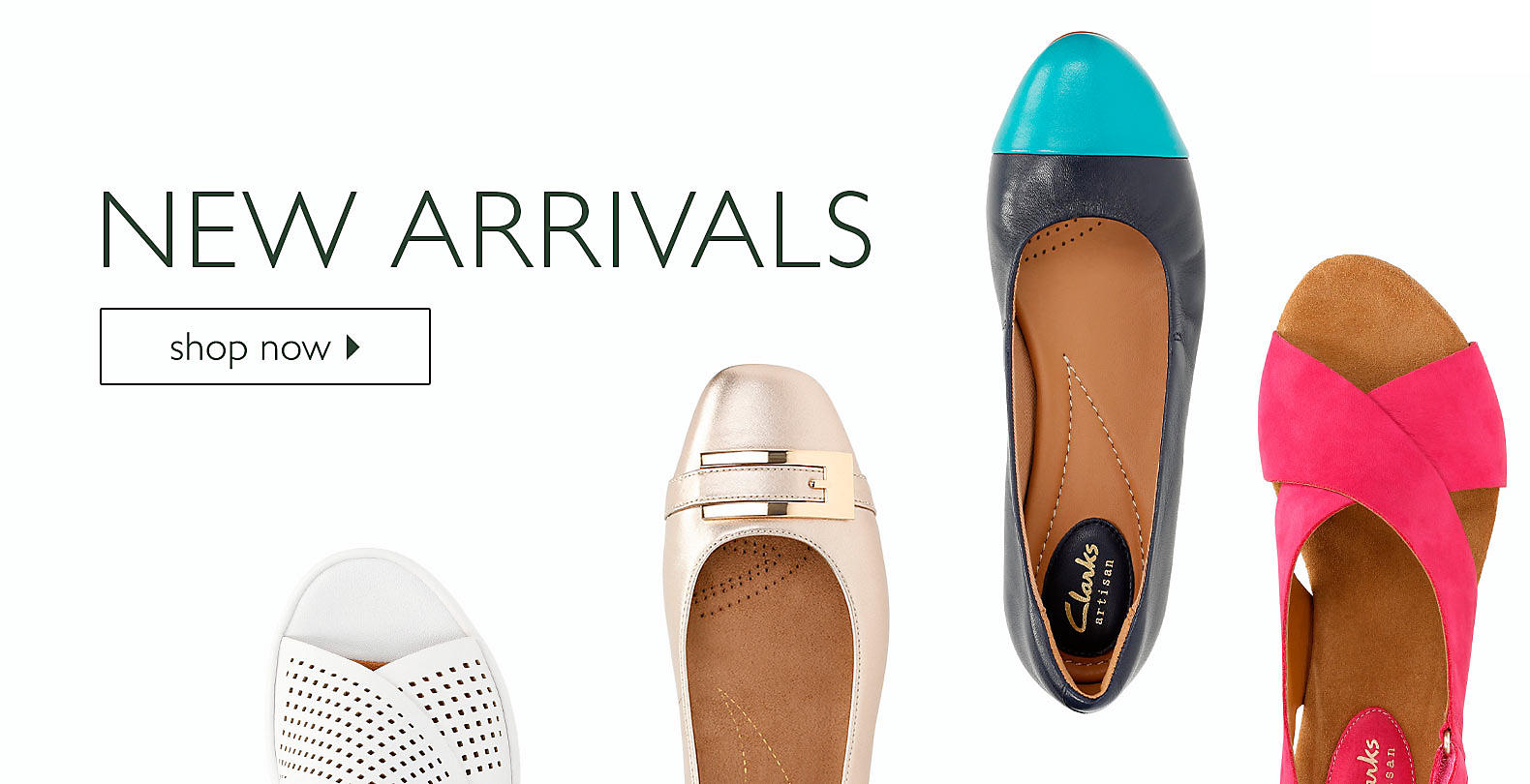 Shop Clarks Women's New Arrivals