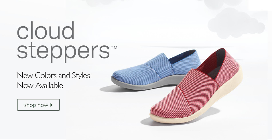 Shop Clarks Cloud Steppers for Women
