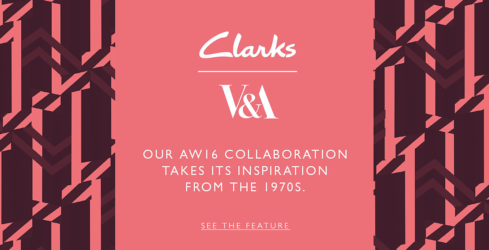 Shop Clarks V&A Collection!