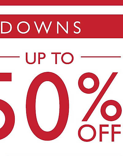 Additional Markdowns