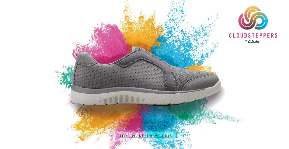 Shop Cloudsteppers by Clarks!