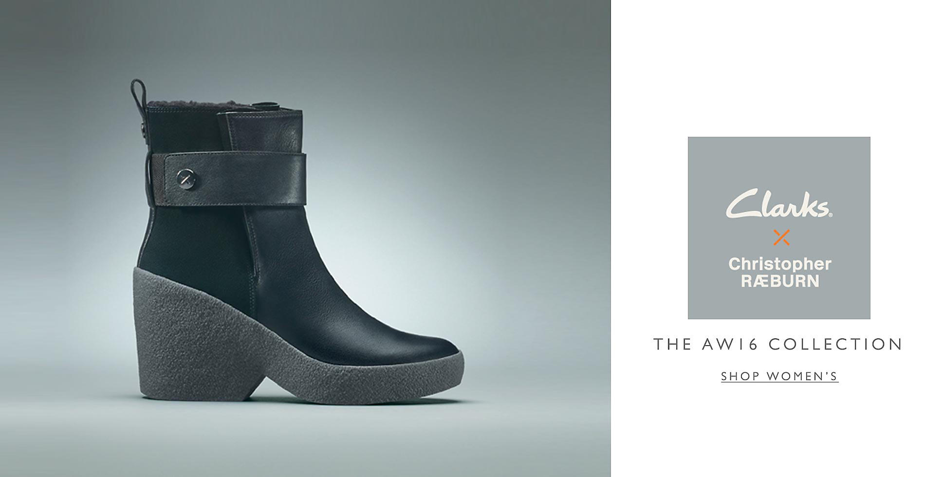 Shop Clarks Womens Christopher Raeburn!