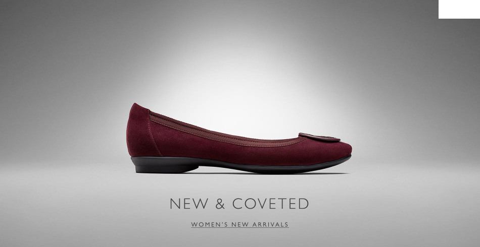 Shop Clarks Womens New Arrivals!