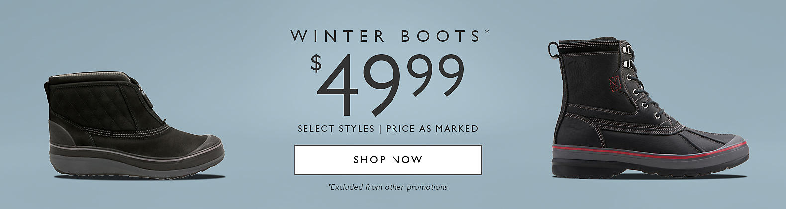 Winter Boots $49.99