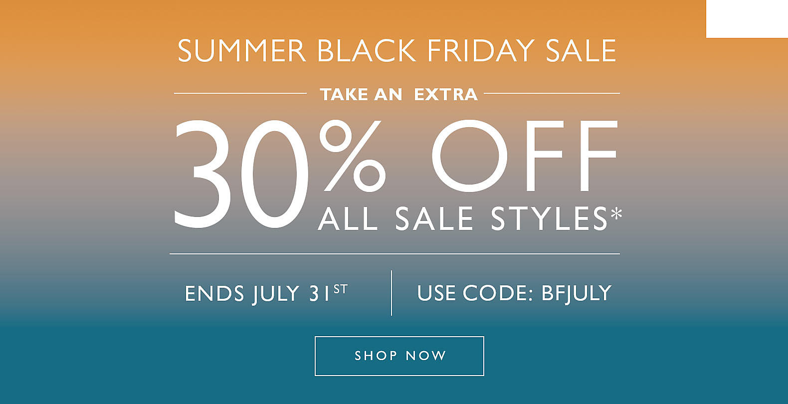 Shop Clarks Black Friday in July Sale!