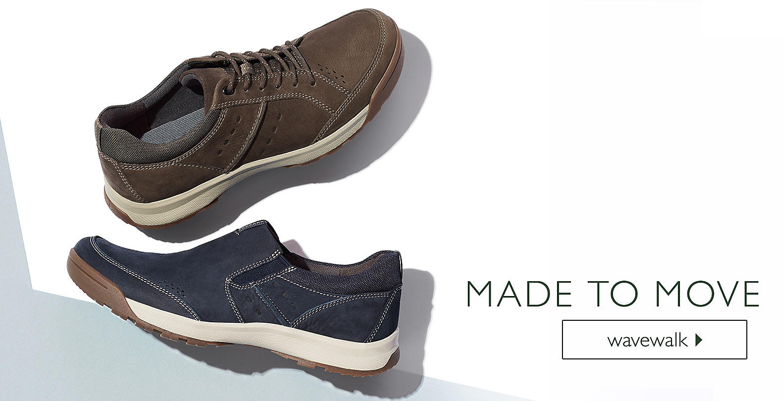 Shop Clarks for Men's Wave Walk