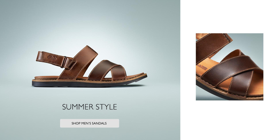Shop Clarks Mens Summer Styles!