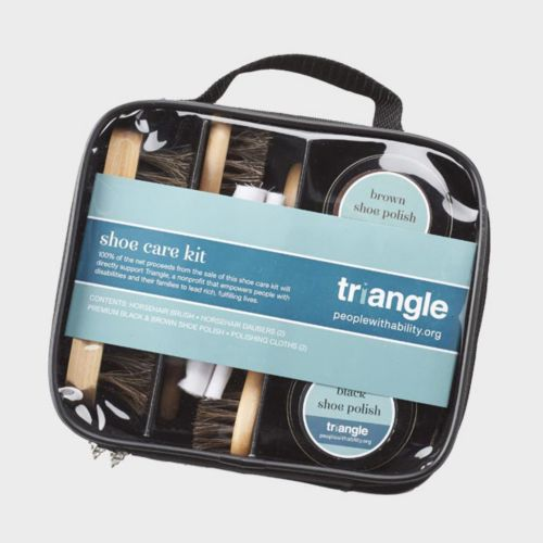 Shop Leather Shoe Care by Triangle.