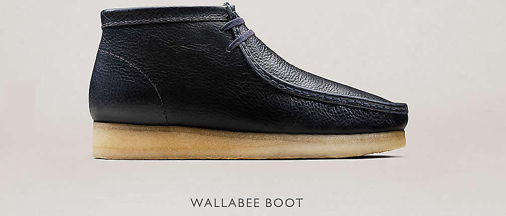 Shop Clarks Wallabee