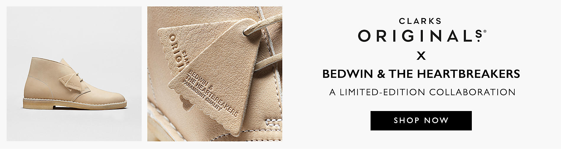 Shop the Clarks Originals x Bedwin & The Heartbreakers Collaboration