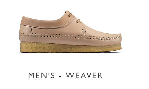 Shop Clarks Veg Tan Weaver