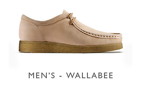 Shop Clarks Veg Tan Wallabee