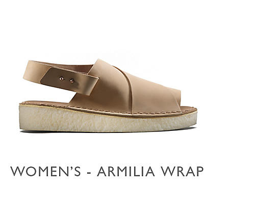 Shop Clarks Veg Tan Women's Armilia Wrap
