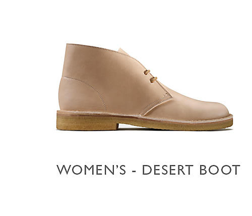 Shop Clarks Veg Tan Women's Desert Boot