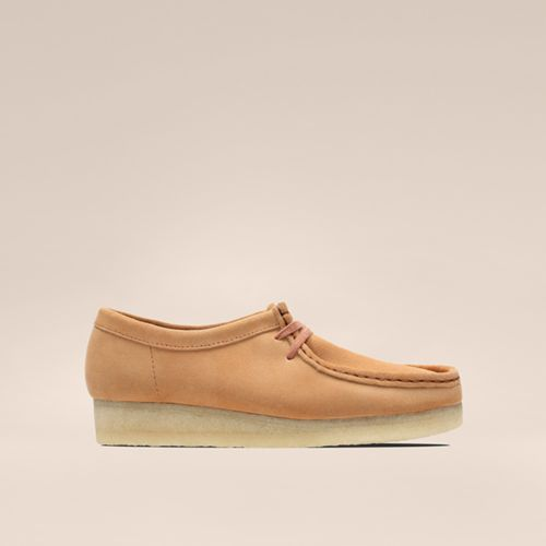 Shop Wallabee in Sandstone!
