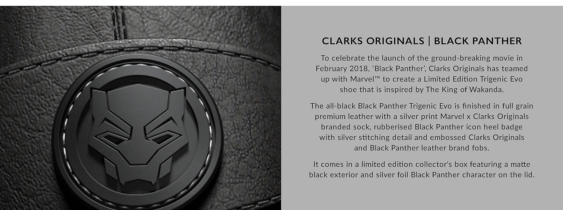 Clarks Originals Black Panther