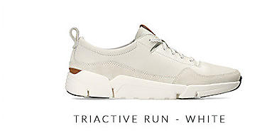 Triactive Run White