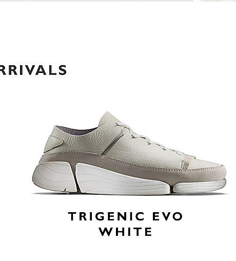 Womens Trigenic Evo. White Leather