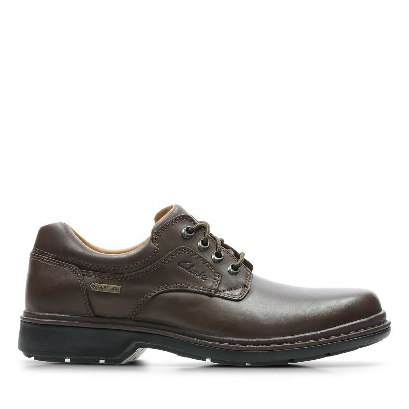 dcc1b5ae9 Rockie Lo GORE-TEX Ebony Leather | Clarks