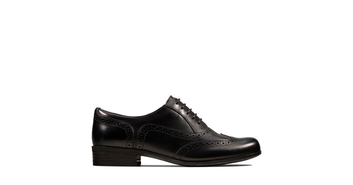 0e05465b9c492 Hamble Oak Black Leather | Clarks