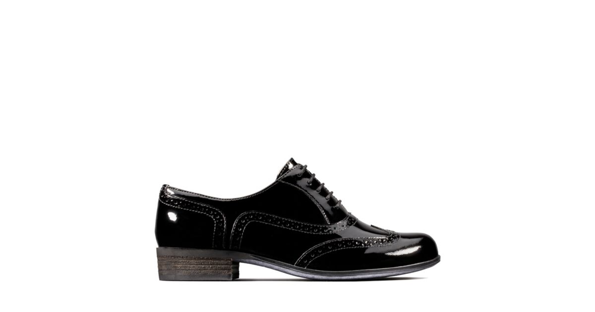 97f2e8cc6337 Womens Black Patent Brogues | Clarks | Clarks