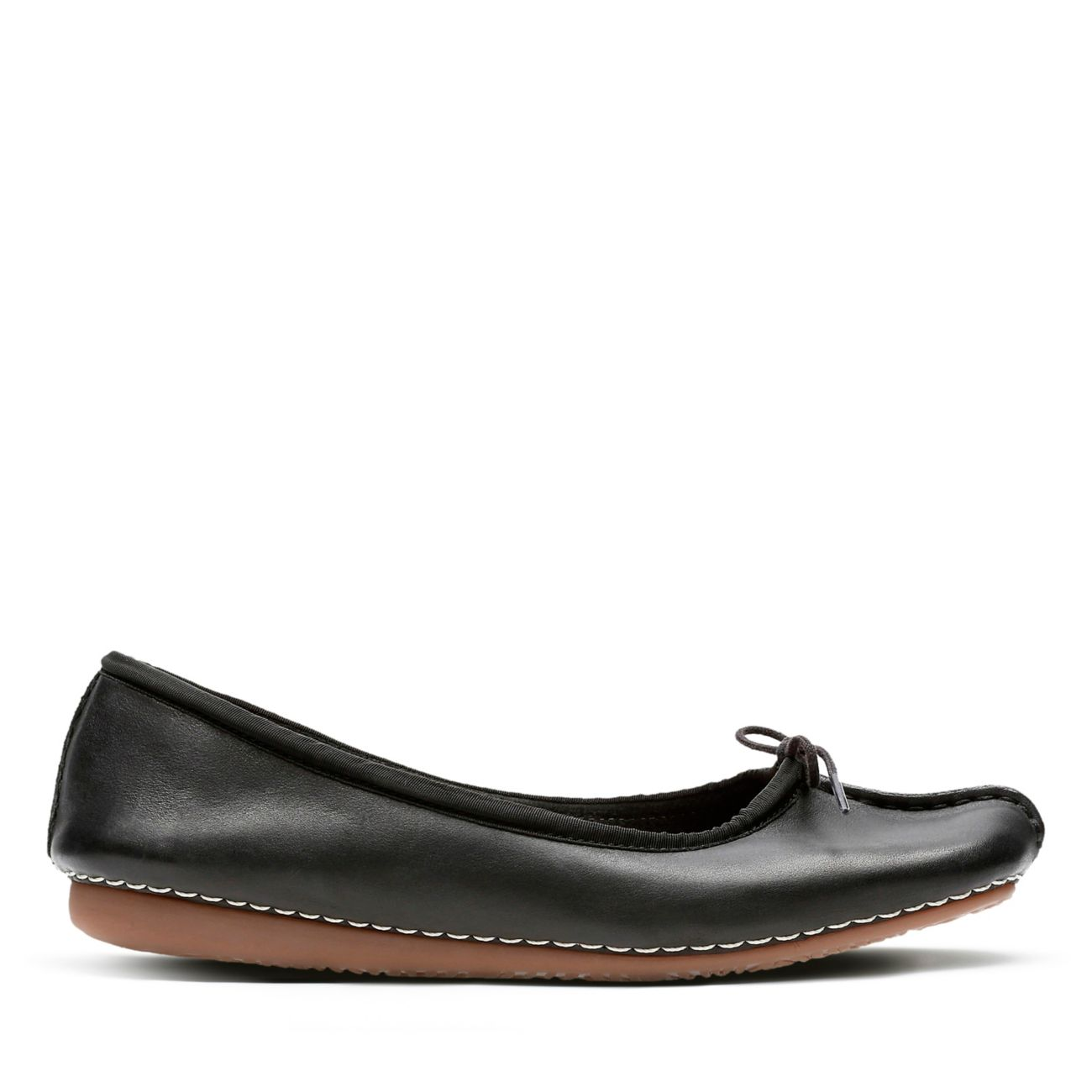 Clarks Freckle Ice 20352929 Damen BALLERINAS schwarz (black Leather) EU 40
