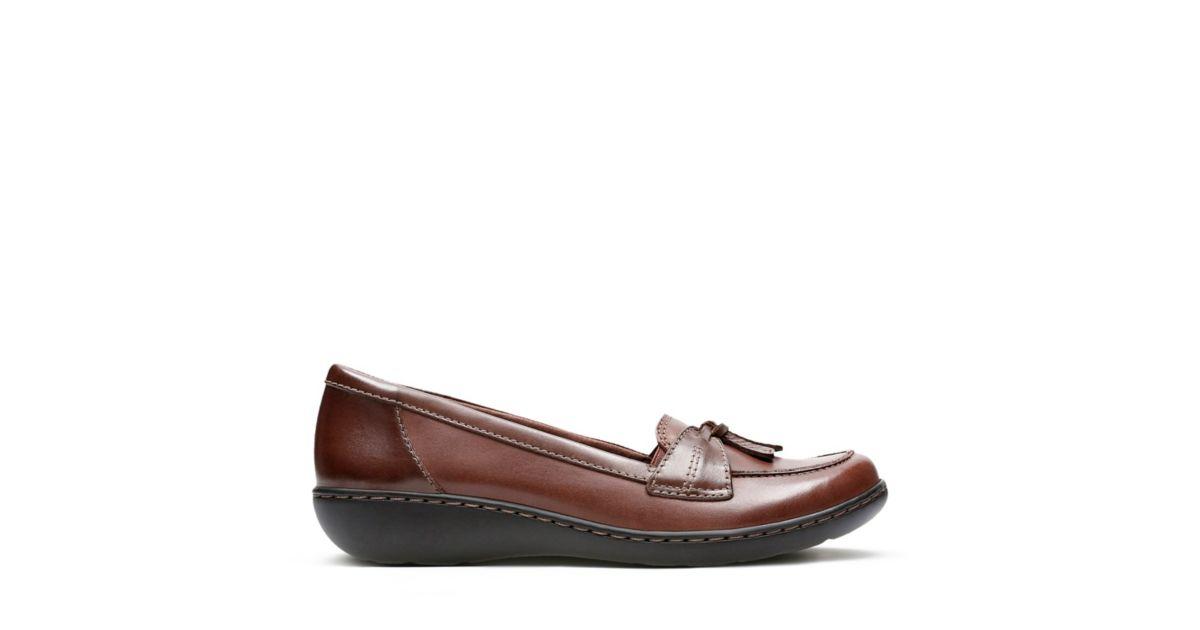 d3e9ddc07a4 Ashland Bubble Brown Leather - Women s Flats - Clarks® Shoes Official Site