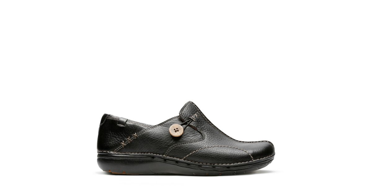 5283eeed Un.Loop Black - Women's Wide Width Shoes - Clarks® Shoes Official Site    Clarks