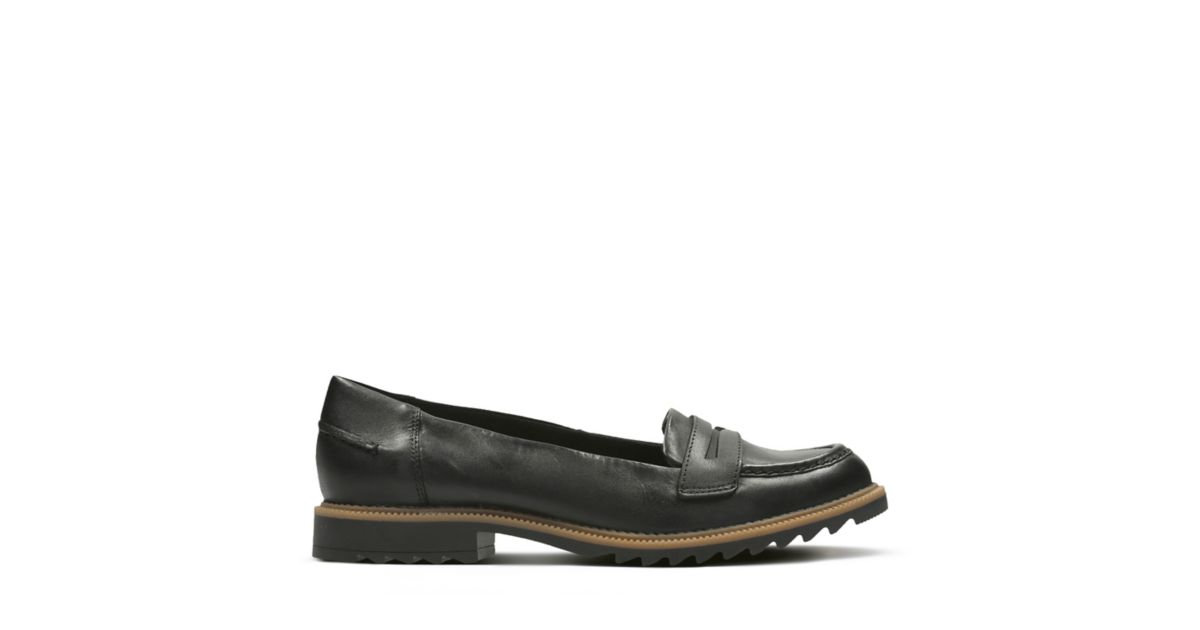 84244a52e44 Griffin Milly Black Leather